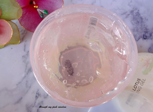 Review of The Face Shop Fresh Jeju Lotus Soothing Gel