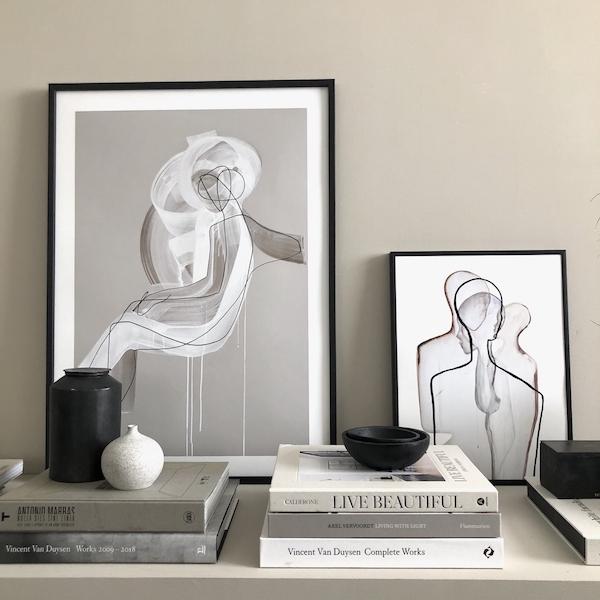 books art prints ceramic mad et len