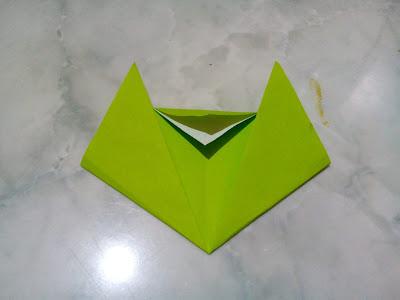 origami kucing