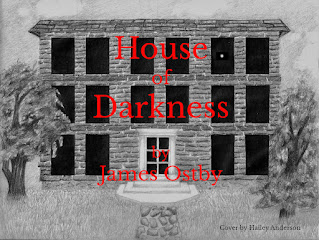 House of Darkness - literary historic fiction by James Ostby - book promotion