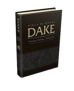 Bíblia de Estudo. Dake - Preta