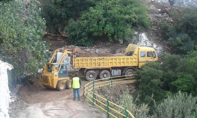 Στους δρόμους για την αποκατάσταση των ζημιών κάθε μέρα ο δήμος Άργους Μυκηνών