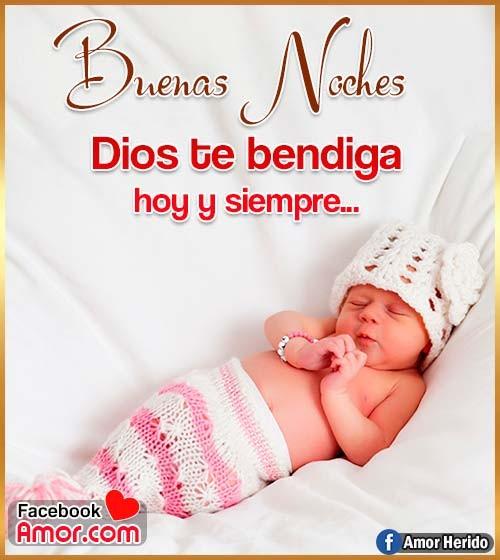 dios te bendiga buenas noches