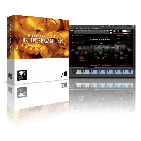 Native Instruments Discovery Series Balinese Gamelan KONTAKT Library