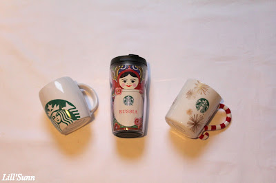 My Starbucks'mug collection!