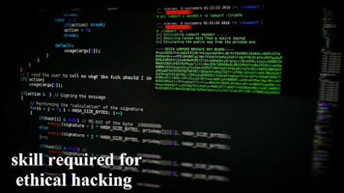 what skill required for ethical hacking