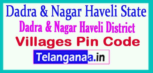 Dadra Nagar Haveli District Pin Codes in Dadra Nagar Haveli State