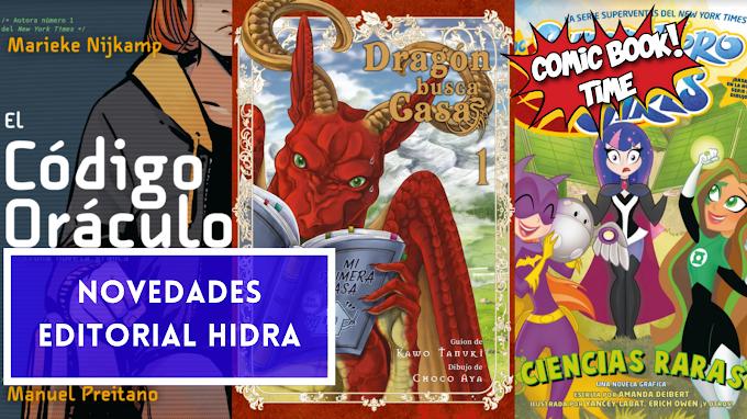 Novedades Editorial Hidra para mayo 2021