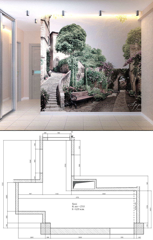 Дизайн интерьера квартиры в современном стиле
