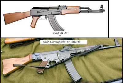 Stg 44 vs Ak 47