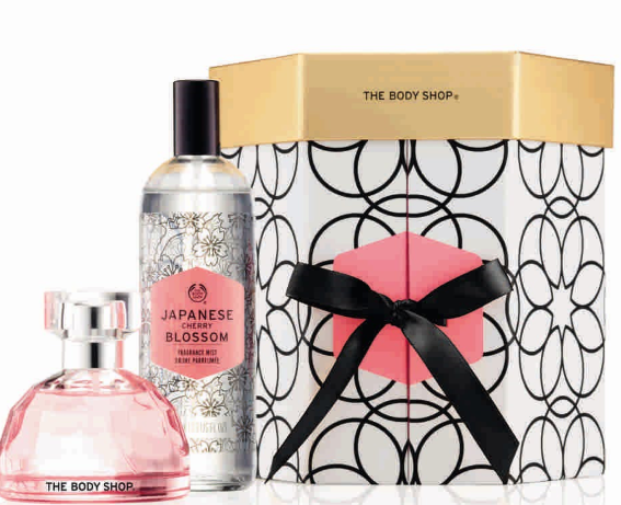 The Body Shop_Japanese Cherry Blossom Fragrance Gift set, Rs 3150