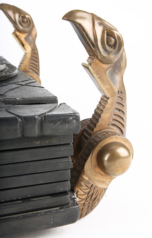 Mummy Book of the Dead prop clasps