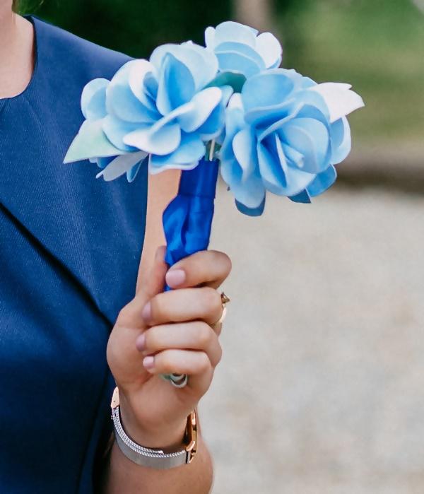 DIY Bouquet de mariée à lancer