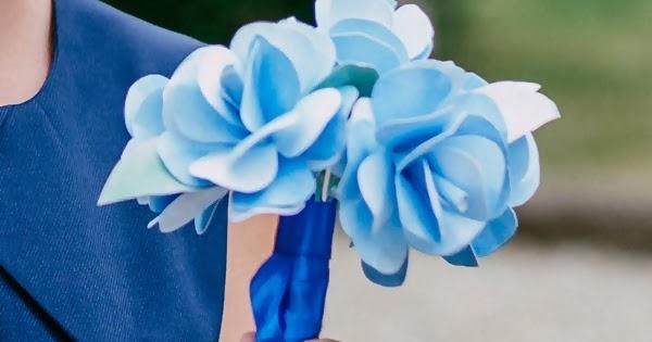 Diy Bouquet De Mariee A Lancer Caro Dels Blog Diy Et Loisirs