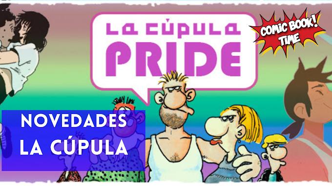 Novedades Ediciones La Cúpula para Junio 2021