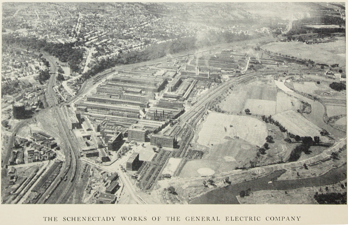 General Electric Schenectady History