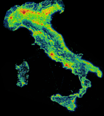 Maps Mania: Name the Country From its Light Pollution