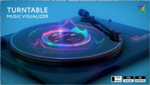 Projects – VideoHive – Turntable Music Visualizer – 28772033 [AEP]