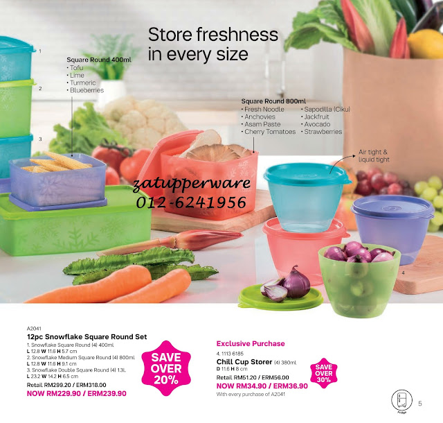 Tupperware Mini Catalogue 1st March - 31st March 2018
