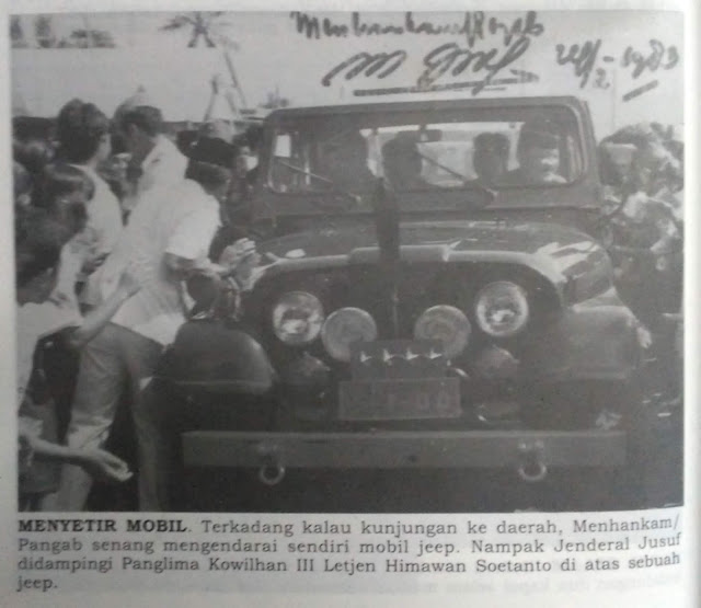 Jenderal M. Jusuf saat ke Barru