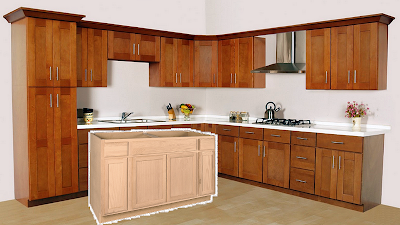 How To Stain Unfinished Cabinets From Lowes