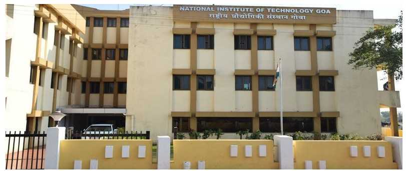 NIT Goa Front view