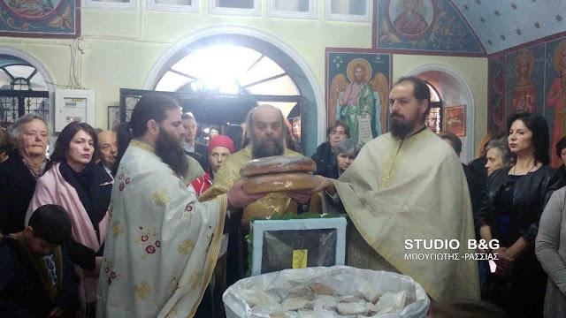 Στο Αργολικό γιόρτασαν τον Ευαγγελισμό της Θεοτόκου