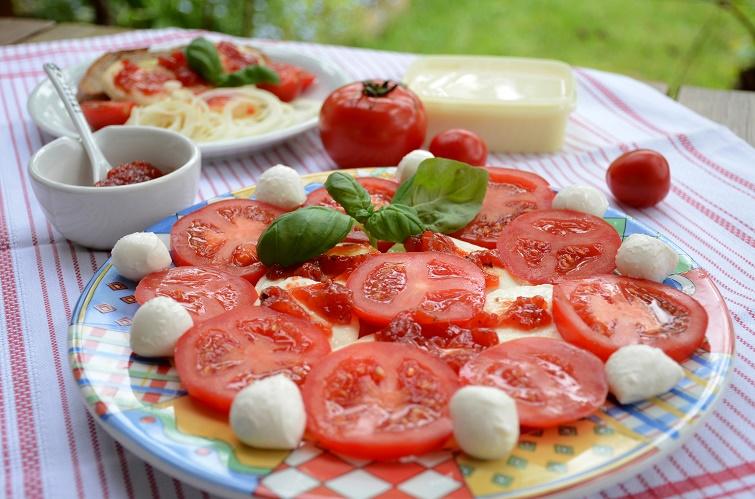Mahlzeit im Garten - Ernte aus dem Bauerngarten