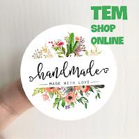 Tem Chủ Shop online, tem handmade, tem thankyou