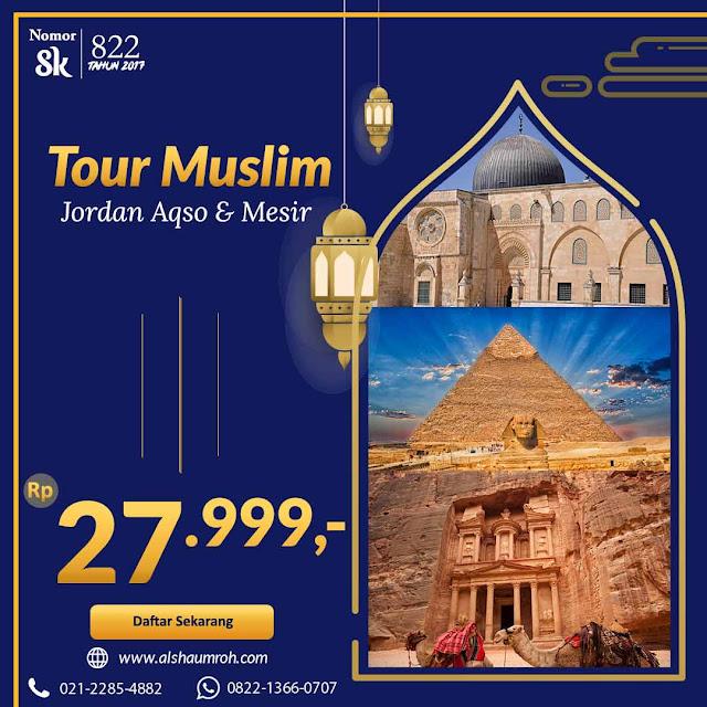 Tour Muslim Aqso Jordan Mesir