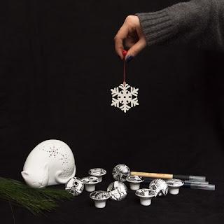 Porcelanowe gałki meblowe - KOSMOSY - DOT manufacture