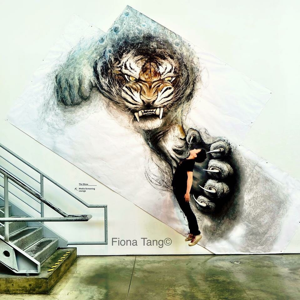 02-Tiger-Fiona-Tang-2D-Sketches-that-Become-3D-Animals-www-designstack-co