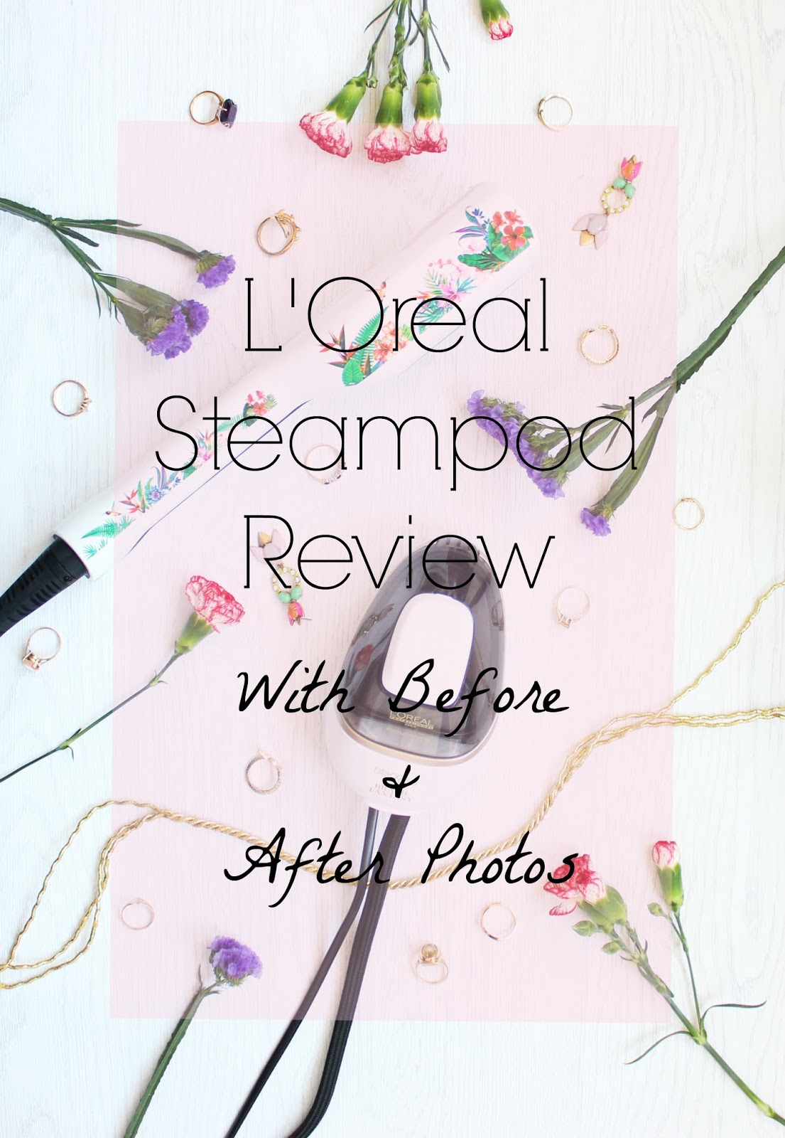 L'Oreal Steampod review with before and after photos