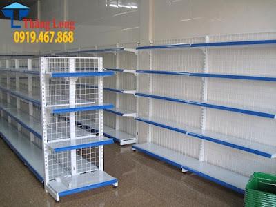 Bật mý xưởng sản xuất kệ siêu thị chất lượng