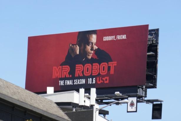 Mr Robot final season 4 billboard