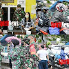 Inilah Giat Prajurit Kodim BS 1408/Makassar, Mewabahnya Virus Corona Disease 19