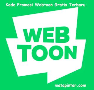 Kode Promosi Webtoon Terbaru