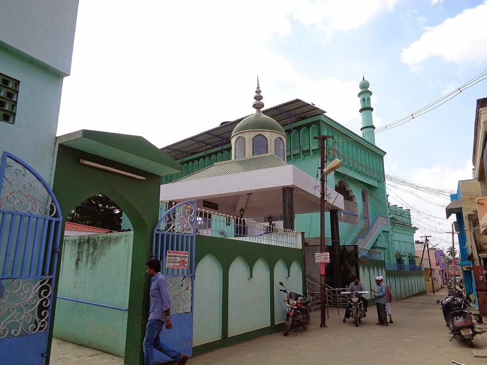mosque in ambur