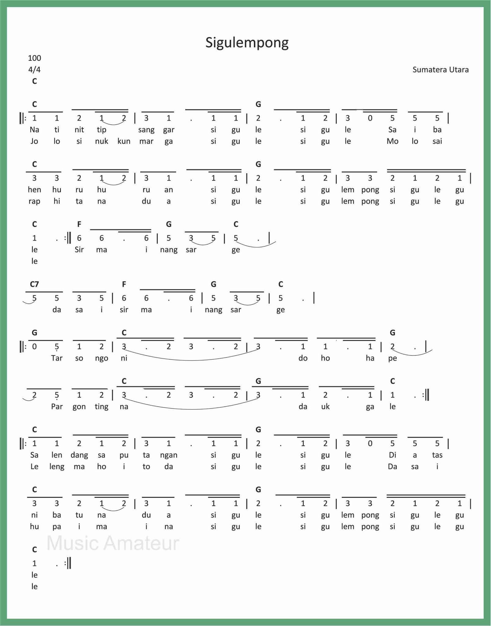 Lirik Lagu Sigulempong : lirik, sigulempong, Angka, Sigulempong, SEPUTAR, MUSIK