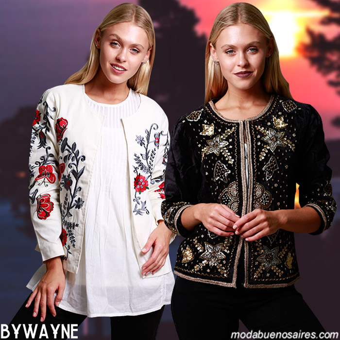 Chaquetas invierno 2019 moda mujer invierno 2019 boho.