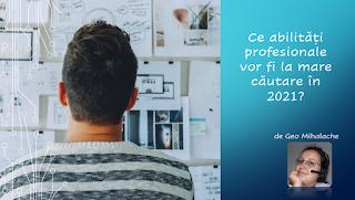Articol resurse umane - Ce abilități profesionale vor fi la mare căutare în 2021