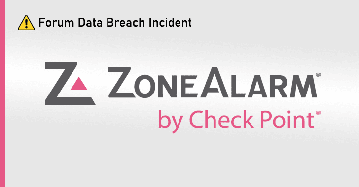 ZoneAlarm forum data breach