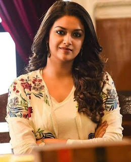 Keerthy Suresh with Cute and Lovely Smile in Sarkar
