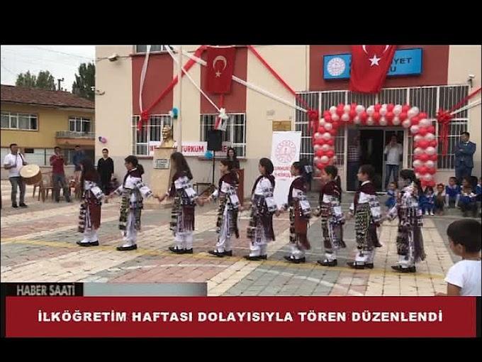 TURHAL'DA İLKÖĞRETİM HAFTASI KUTLANDI