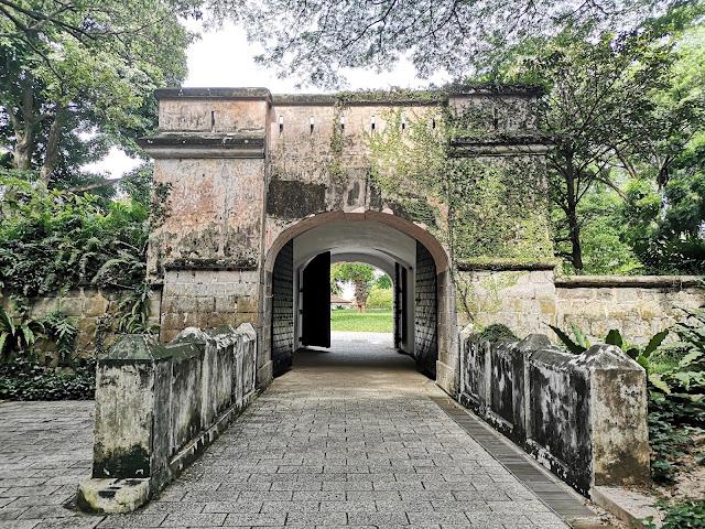 Fort Gate - Fort Canning Park