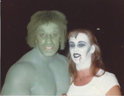 me and Bob at Universal Studios