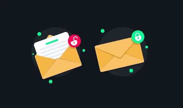 إرسال رسالة بريد إلكتروني مشفرة في Gmail