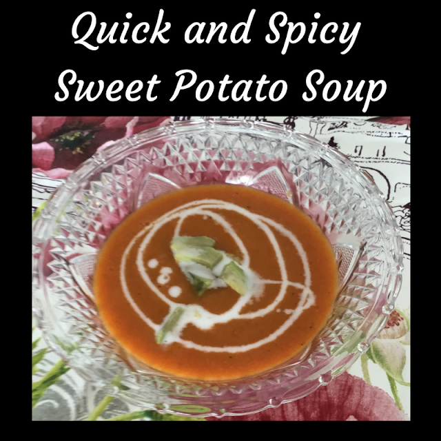 sweet potato soup with coconut milk