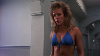 Vickie Benson sexy bikini girl Private Resort 1985