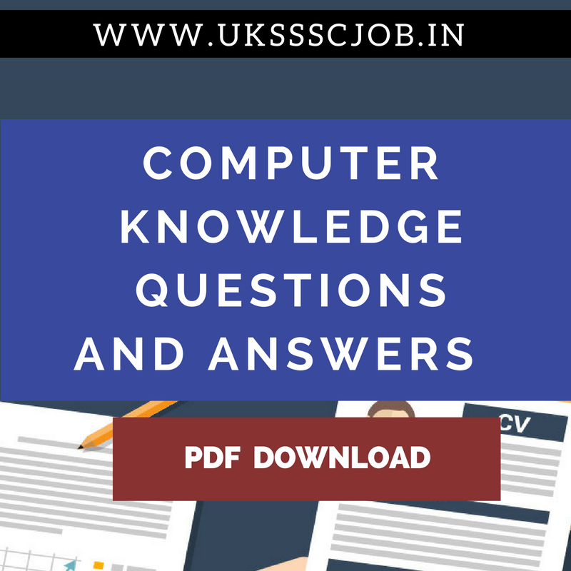 Computer Knowledge Questions And Answers Pdf